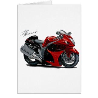 Hayabusa Red-Black Bike Card