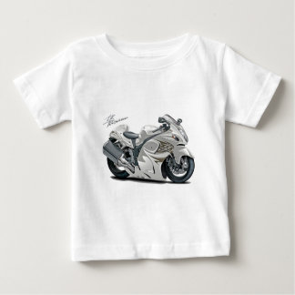 Hayabusa White Bike Baby T-Shirt