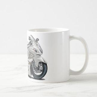 Hayabusa White Bike Mugs