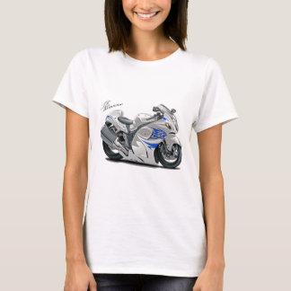 Hayabusa White-Blue Bike T-Shirt