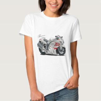 Hayabusa White-Red Bike Shirts