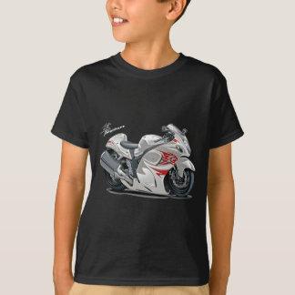 Hayabusa White-Red Bike Tshirts