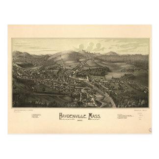 Haydenville Massachusetts (1886) Postcard