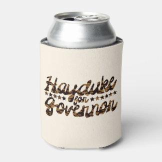 Hayduke for Governor Retro Floral Can Cooler