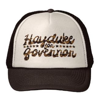 Hayduke for Governor Retro Floral Cap