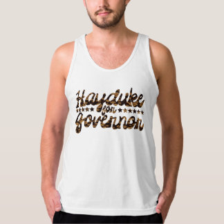 Hayduke for Governor Retro Floral Tank Top
