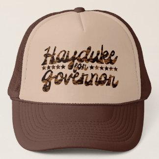 Hayduke for Governor Retro Floral Trucker Hat