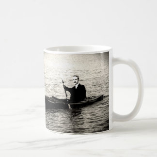 Hayek in a Kayak Coffee Mug