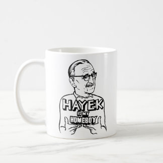 Hayek Is My Homeboy Mug
