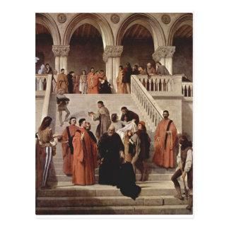 Hayez, Francesco Der Tod des Dogen Marin Faliero ( Postcard