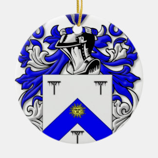 Hayhurst Coat of Arms Christmas Ornament