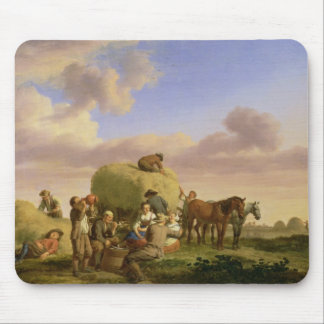 Haymakers resting in a field mouse mat