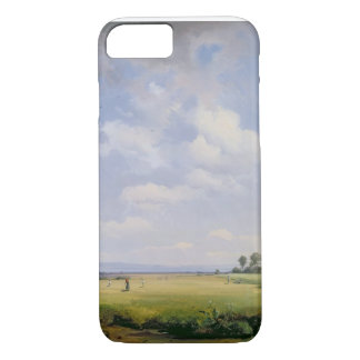Haymaking, 1838 (oil on canvas) iPhone 8/7 case