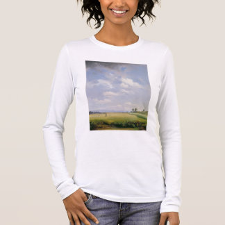 Haymaking, 1838 (oil on canvas) long sleeve T-Shirt