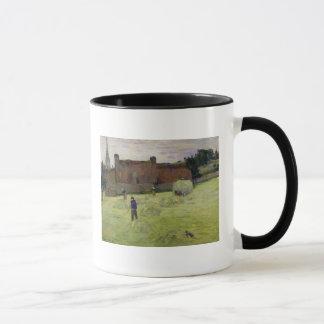 Haymaking in Brittany, 1888 Mug