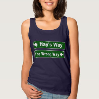 Hay's Way Street Sign Clan Shirt