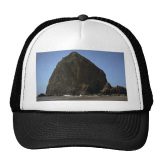 """Haystack"""", Oregon coast rock formation Hats"""