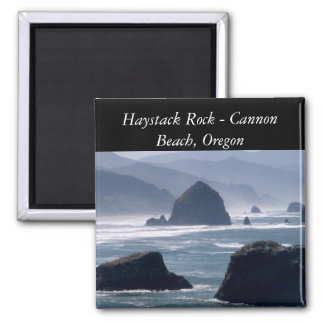 Haystack Rock - Cannon Beach Oregon Magnet