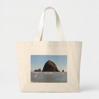 Haystack Rock Jumbo Tote Bag