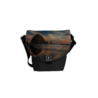 Haystack Rock Painting Courier Bag