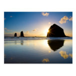 Haystack Rock Sunset - Cannon Beach, Oregon