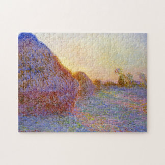 Haystacks Monet Fine Art Puzzles