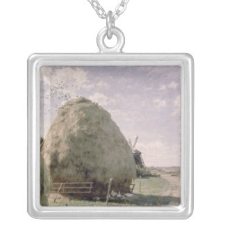 Haystacks Silver Plated Necklace