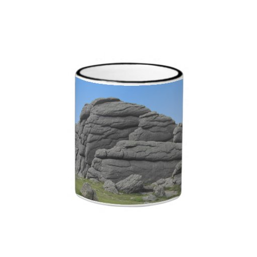 Haytor. Rocks in Devon England. Coffee Mugs