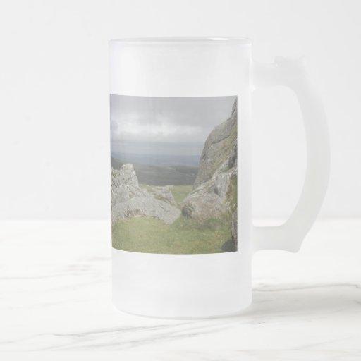 Haytor. Rocks in Devon England. Coffee Mug