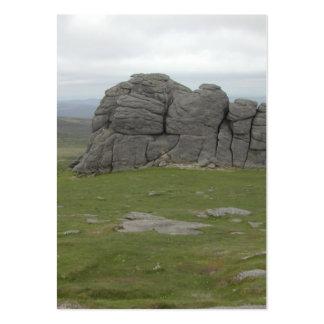 Haytor. Rocks in Devon England. Pack Of Chubby Business Cards