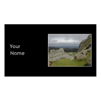 Haytor. Rocks in Devon England. Pack Of Standard Business Cards