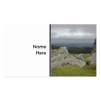 Haytor. Rocks in Devon England. Pack Of Standard Business Cards