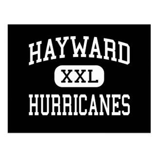 Hayward - Hurricanes - High - Hayward Wisconsin Postcard