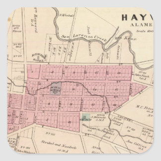 Haywards, Crist tannery Square Sticker