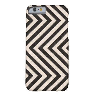 Hazard Stripes Barely There iPhone 6 Case