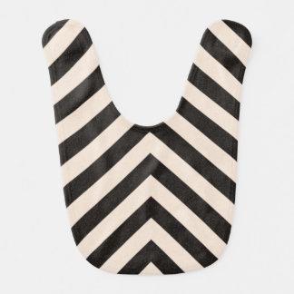 Hazard Stripes Bib
