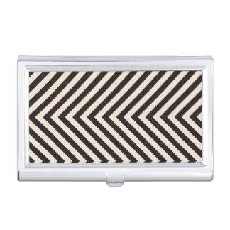 Hazard Stripes Business Card Holder
