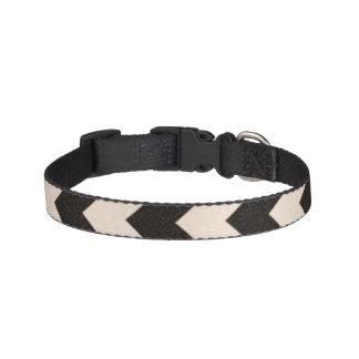 Hazard Stripes Pet Collar