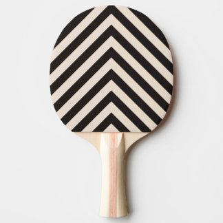 Hazard Stripes Ping Pong Paddle