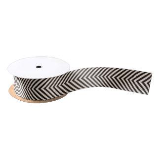 Hazard Stripes Satin Ribbon