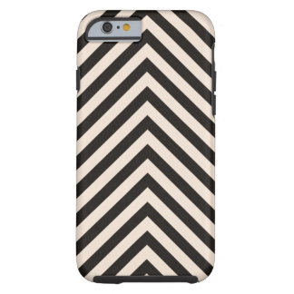Hazard Stripes Tough iPhone 6 Case