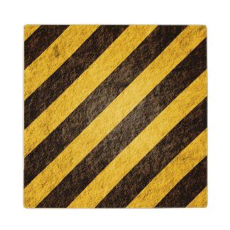 Hazard Wood Coaster