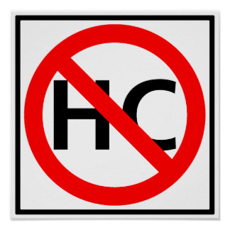 Hazardous Cargo Prohibited Highway Sign