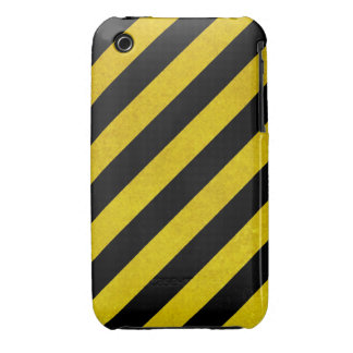 hazardous stripes iPhone 3 cases