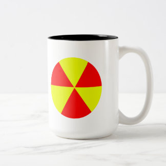 Hazardous Two-Tone Mug