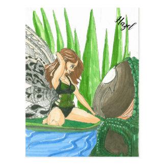 Hazel the Fairy Postcard