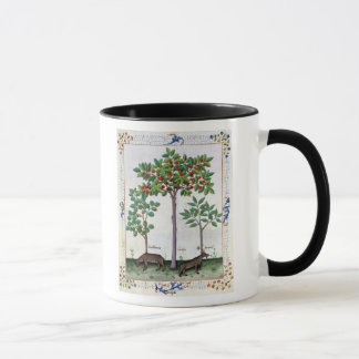 Hazelnut Bush  and Cherry tree Mug
