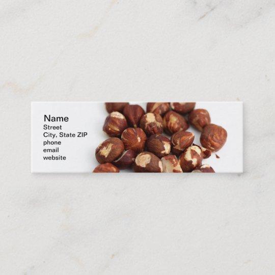 Hazelnuts Mini Business Card