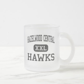 Hazelwood Central - Hawks - High - Saint Louis Frosted Glass Mug