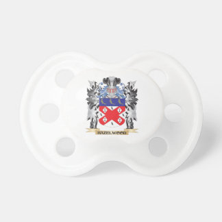 Hazelwood Coat of Arms - Family Crest Baby Pacifiers